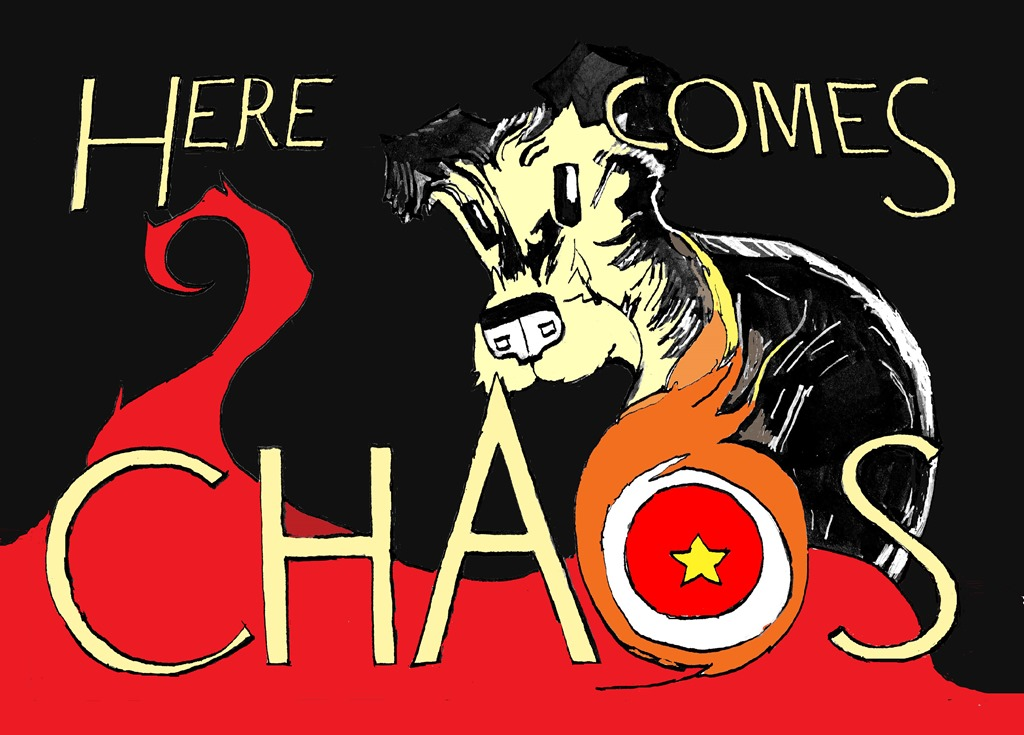 Here Comes Chaos cover